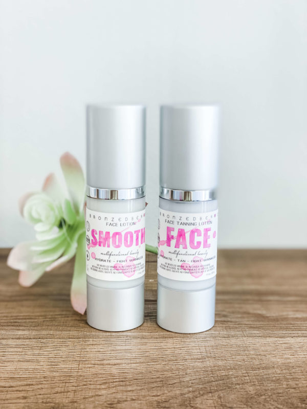 smooth face sunless tanning combo