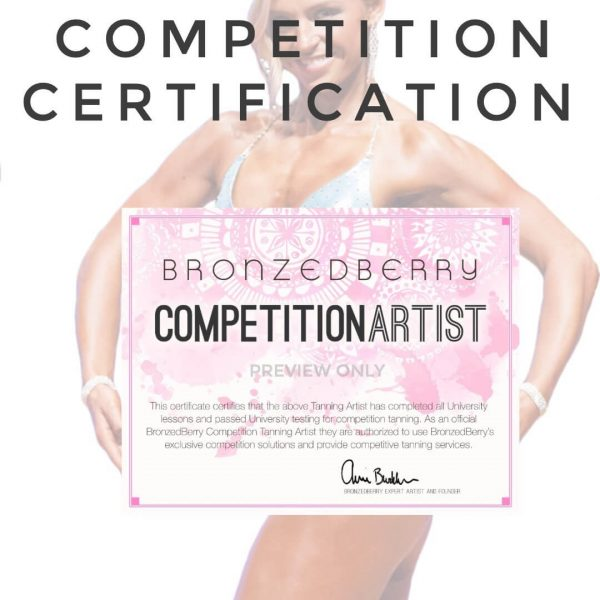 competition spray tan class