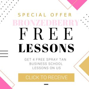 spray tan school lessons free