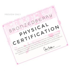 certificate of completion physical mailer