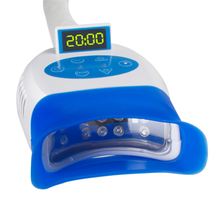 10 led blue professional teeth whitening lamp